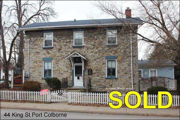 Niagara region stone home sold dave chomitz