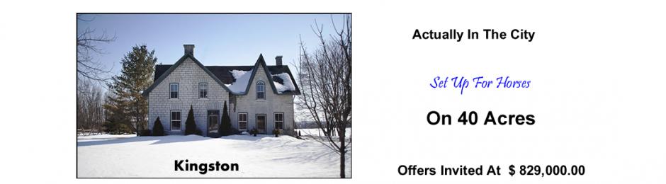 kingston ontario stone home for sale