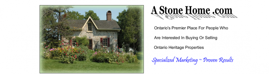 A Stone Home - Ontario stone home marketing platform