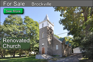 stone church for sale near brockville ontario