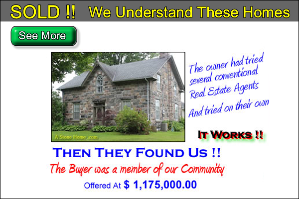 how to sell a stone home in ontario