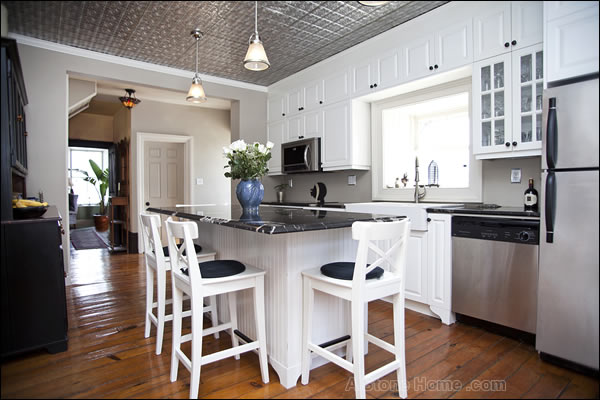 kitchen of kingston ontario stone home for sale