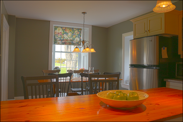 eastern ontario stone home for sale dining room