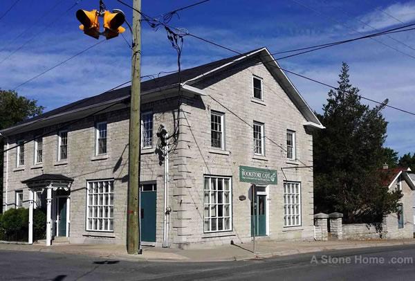 dave chomitz ontario stone home camden east front