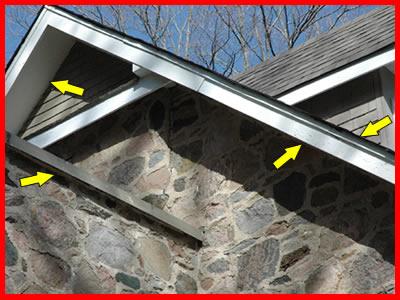 ontario stone home flashing checker