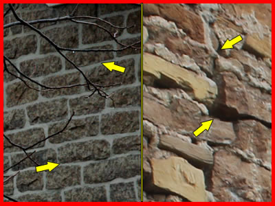 ontario stone home pointing comparison