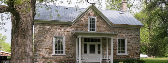 dave chomitz ontario stone home
