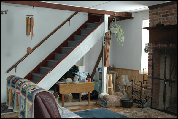 Dave Chomitz ontario stone homes for sale stairs