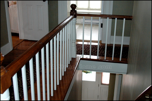 dave chomitz ontario stone home painted stair