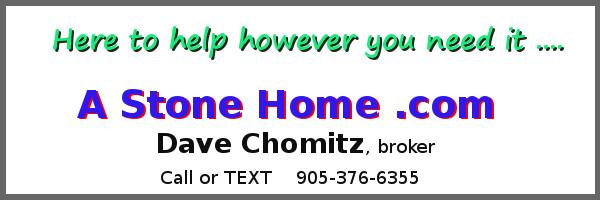Dave Chomitz heritage stone homes ontario sales