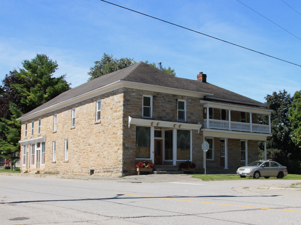 John Polk Store portland ontarion stone home for sale dave chomitz