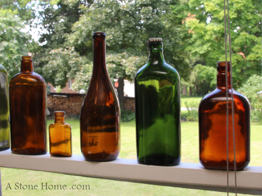 ontario stone home for sale old bottles