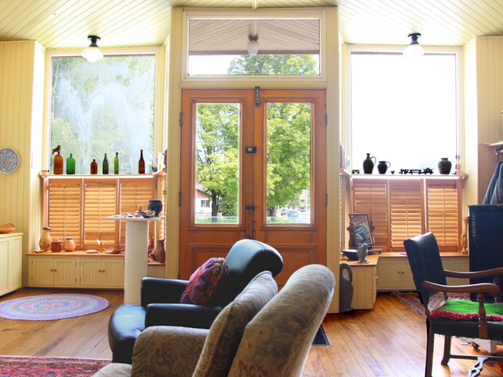 living room 2 portland ontario stone home