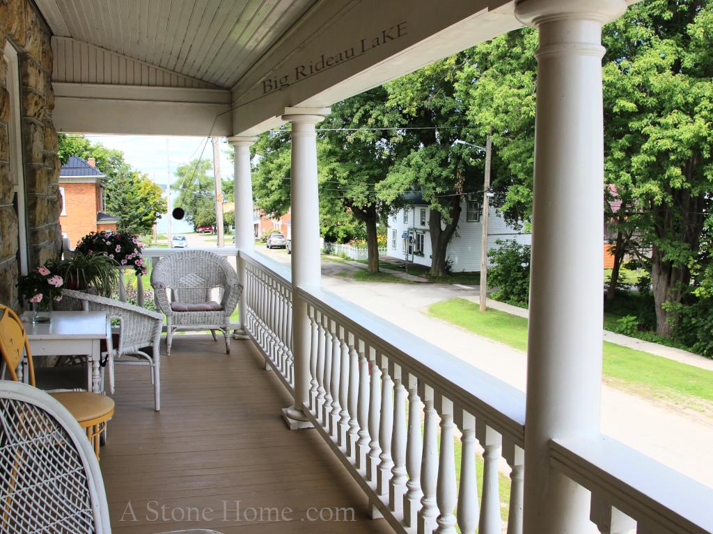 master bedroom balcony portland ontario stone home for sale