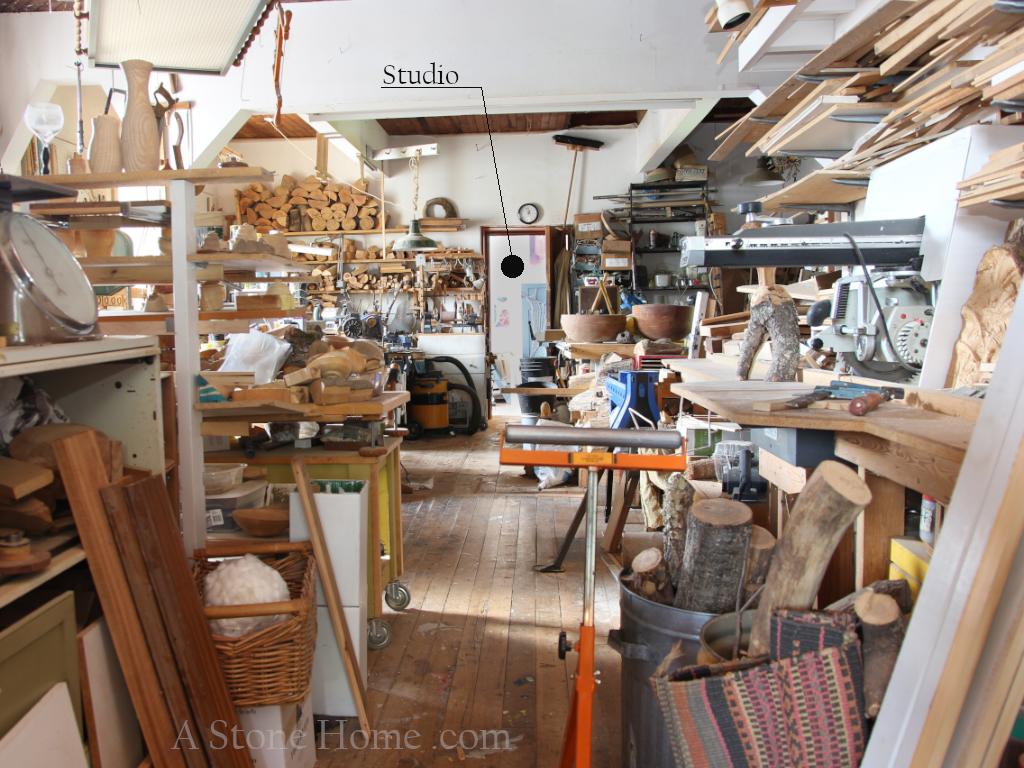 ontario stone home work shop