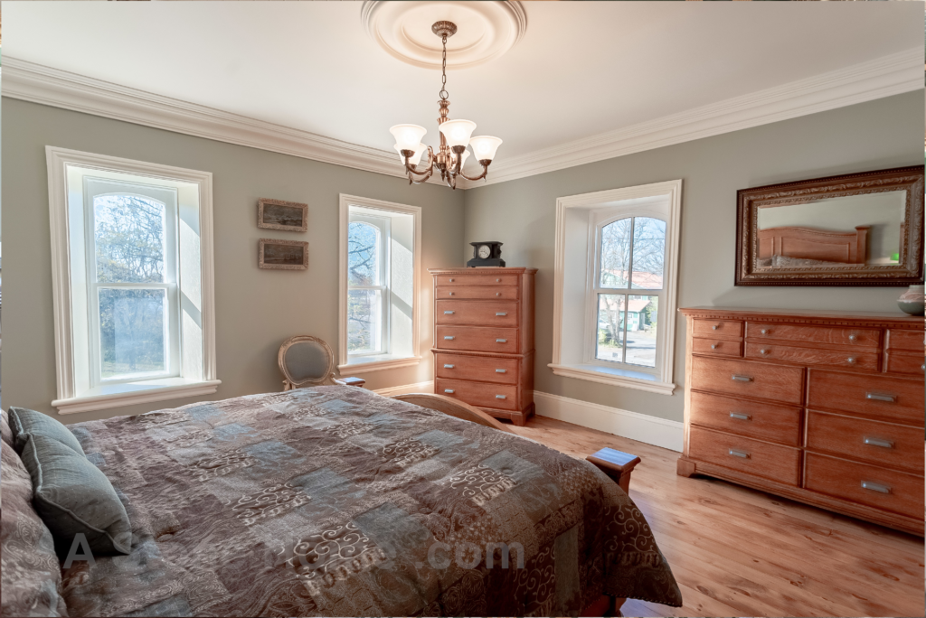 Merrikville Ontario stone home for sale Dave Chomitz bedroom 2