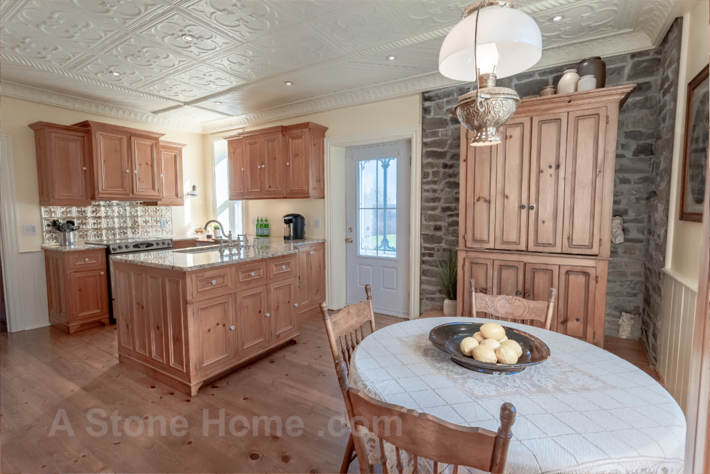 Merrikville Ontario stone home for sale Dave Chomitz exposed stone