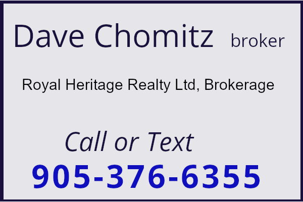 dave chomitz ontario stone home for sale heritage property marketer